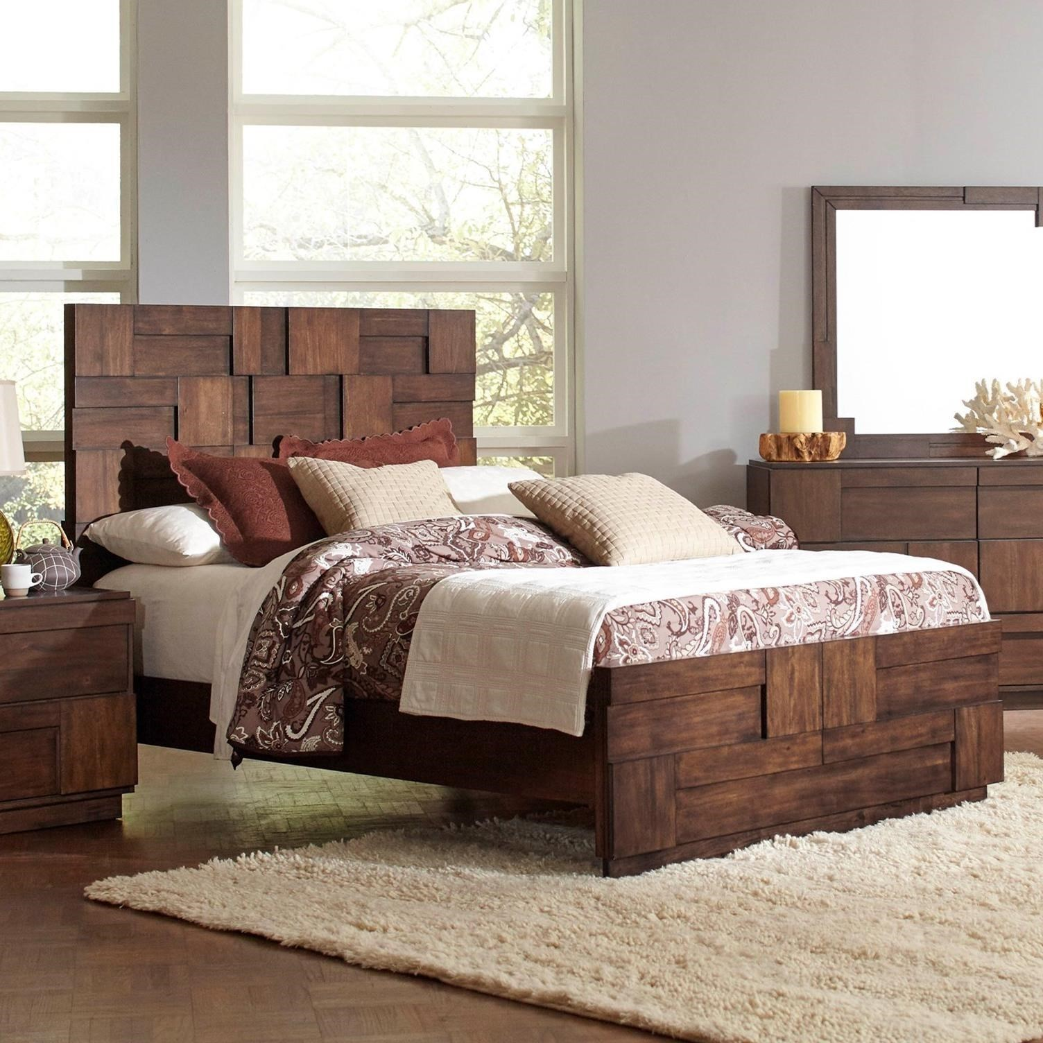 Coaster Gallagher Queen Bed - Item Number: 200851Q