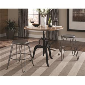 Coaster Galway Adjustable Dining Set