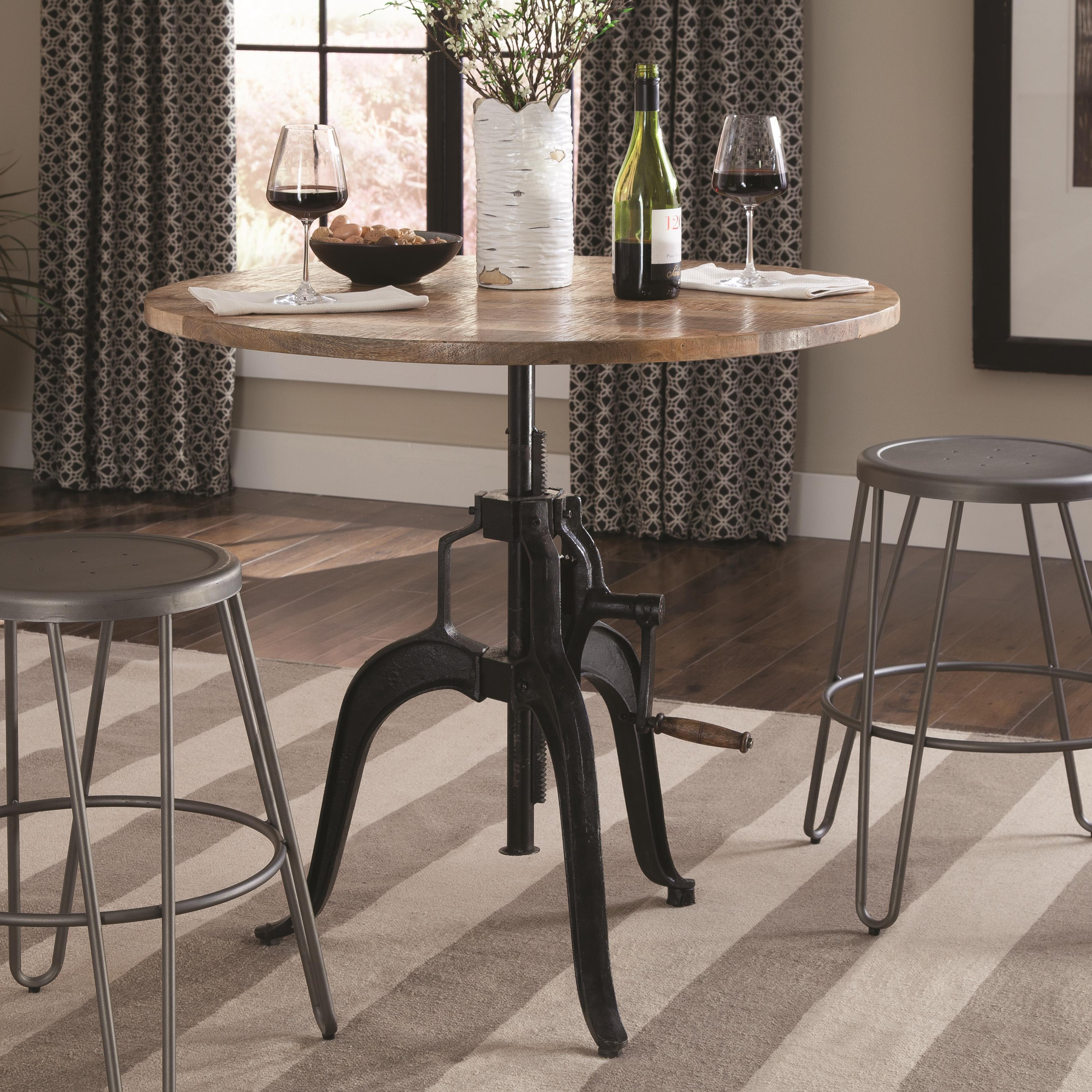 Galway Adjule Height Dining Table