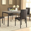 Coaster Garza Dining Table - Item Number: 100611