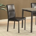 Coaster Garza Upholstered Dining Chair - Item Number: 100612