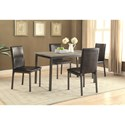 Coaster Garza Upholstered Dining Chair with Full Back