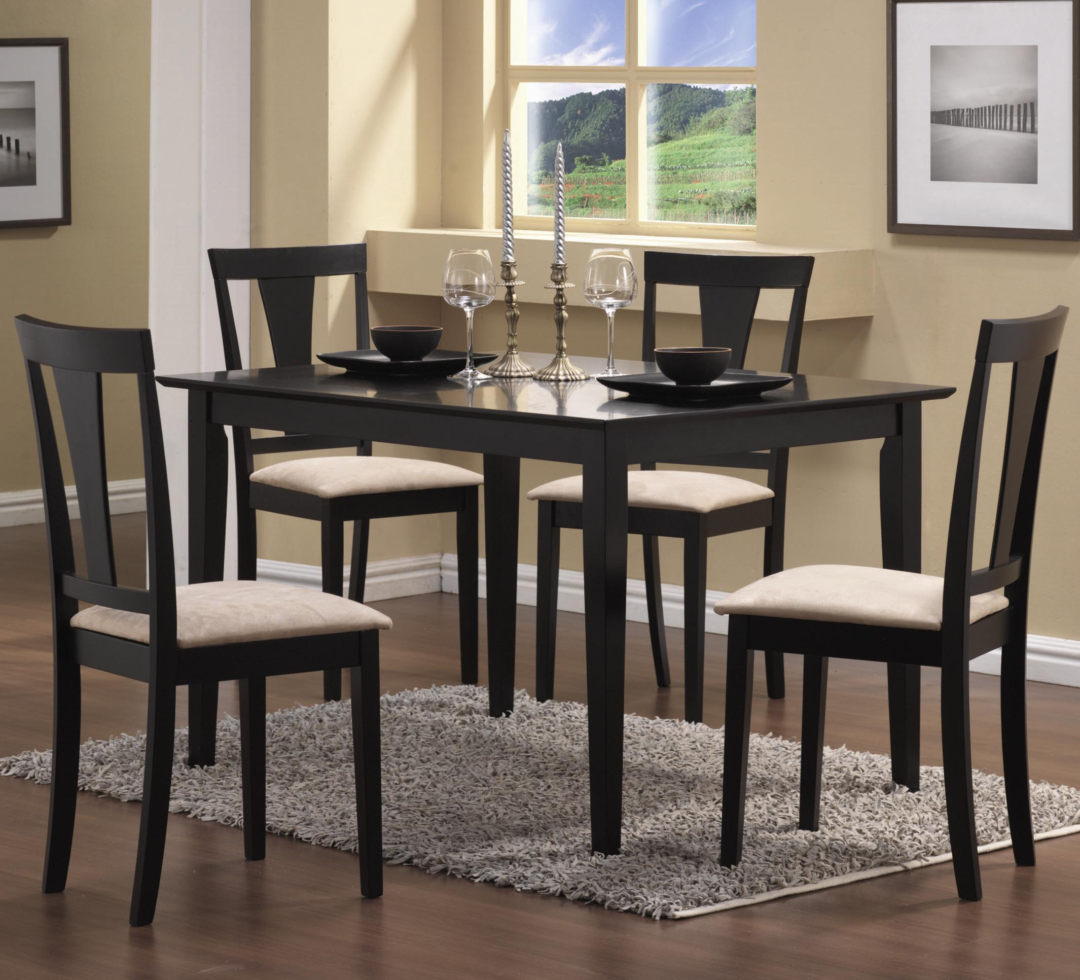 Coaster Geary 5 Piece Dining Set - Item Number: 150181