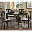 Coaster Geary 5 Piece Dining Set