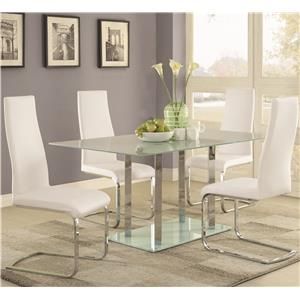 Coaster Geneva Table and Chair Set