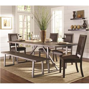 Coaster Genoa Table and Chair Set