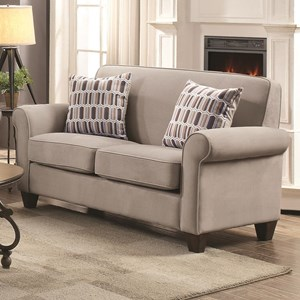 Coaster Gideon by Coaster Loveseat