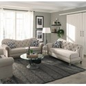 Coaster Gilmore Stationary Living Room Group - Item Number: 5085 Living room Group 1