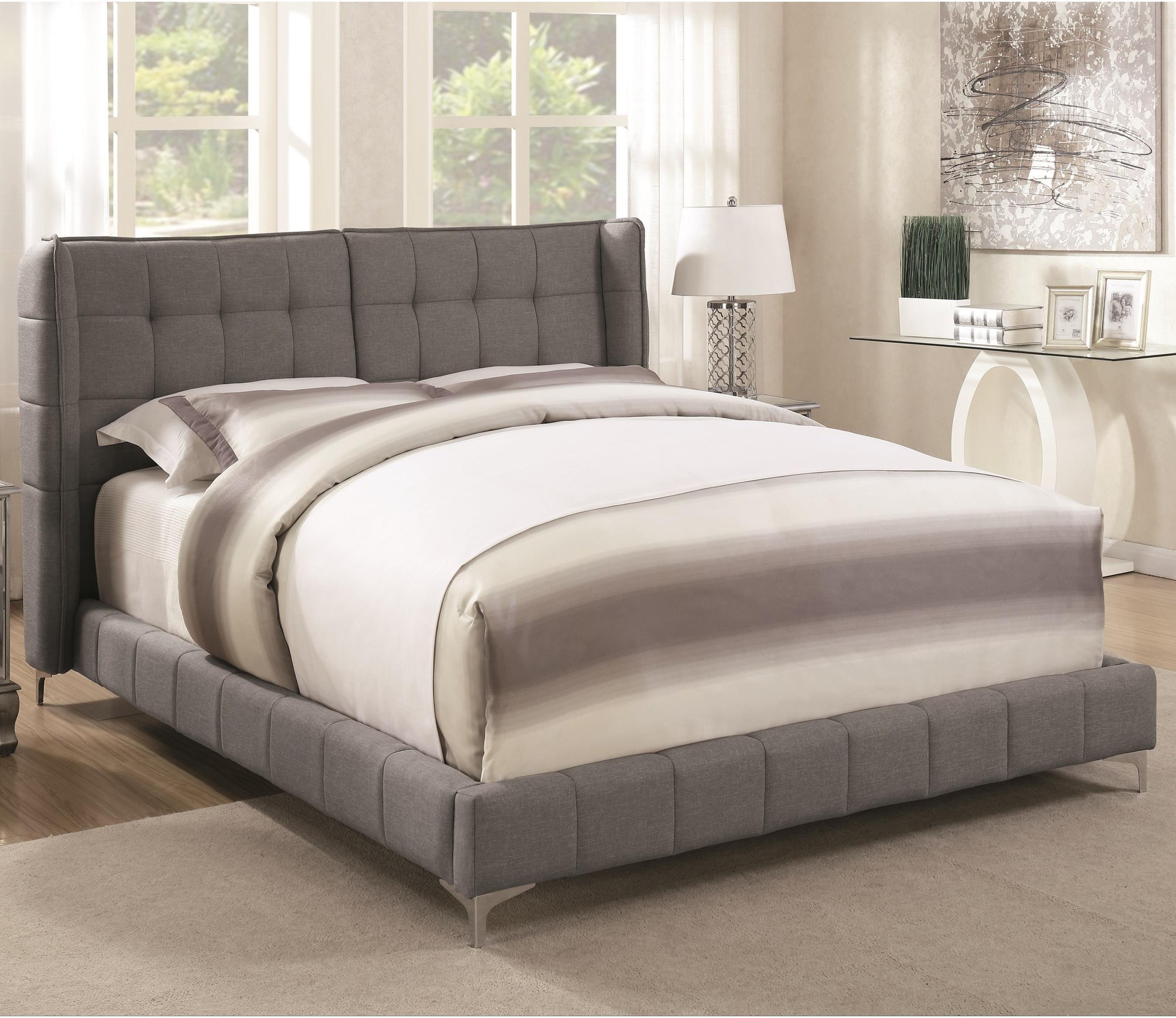 Coaster Goleta Full Upholstered Bed - Item Number: 300677F