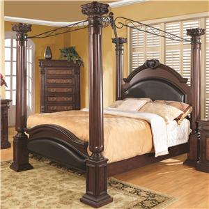 Coaster Grand Prado Queen Poster Bed