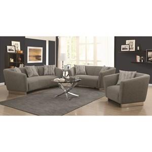 Coaster Grayson Stationary Living Room Group