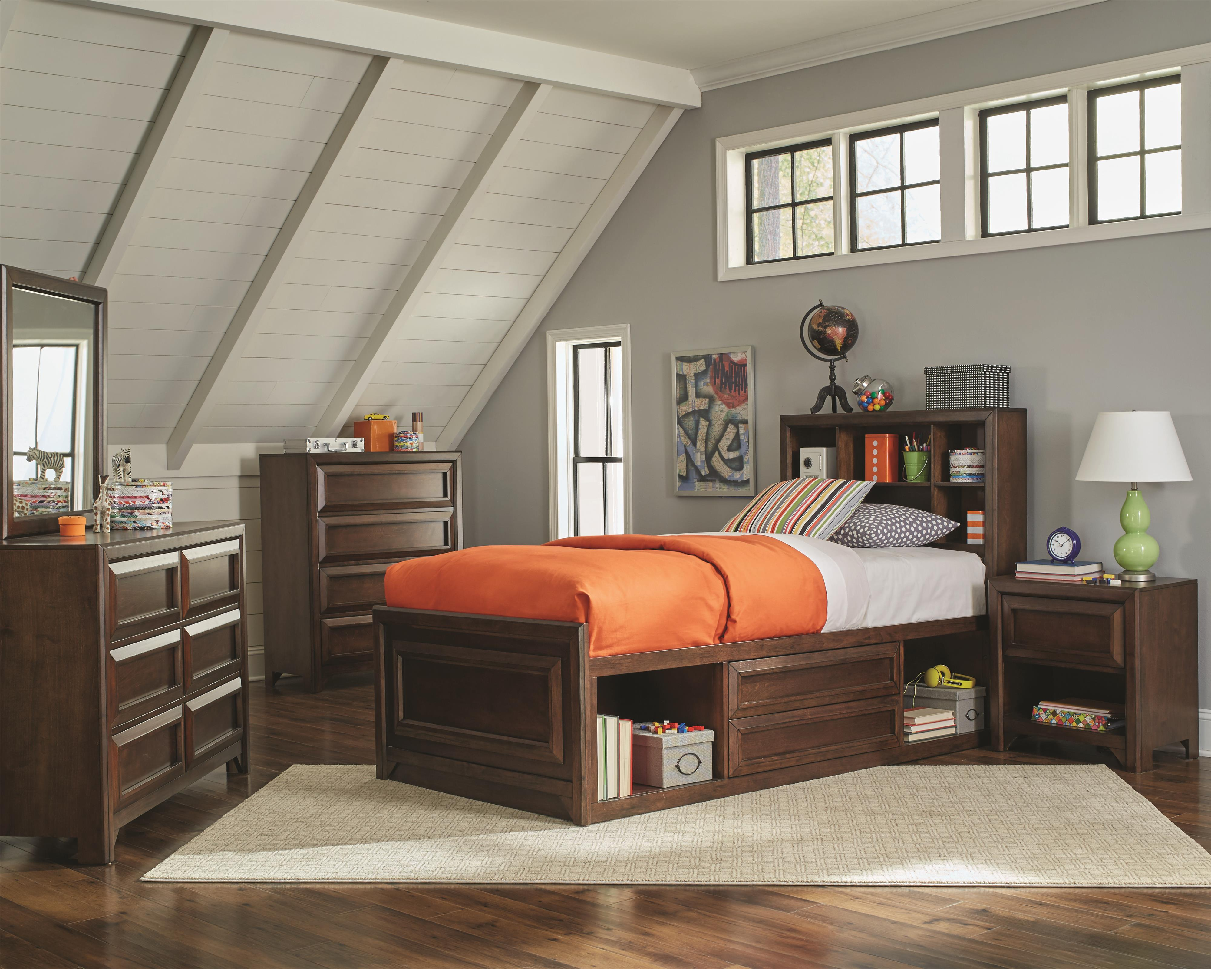 Coaster Greenough Twin Bedroom Group - Item Number: 4008 T Bedroom Group 1