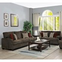 Coaster Griffin Stationary Living Room Group - Item Number: 5083 Living Room Group 2