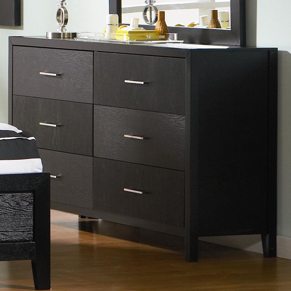 Coaster Grove Six Drawer Dresser Furniture Superstore Rochester Mn Dressers Rochester