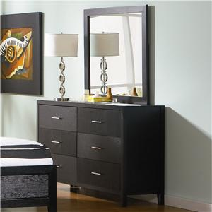 Coaster Grove Dresser and Mirror Set