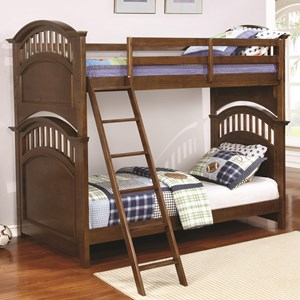 Coaster Halsted Twin over Twin Bunk Bed