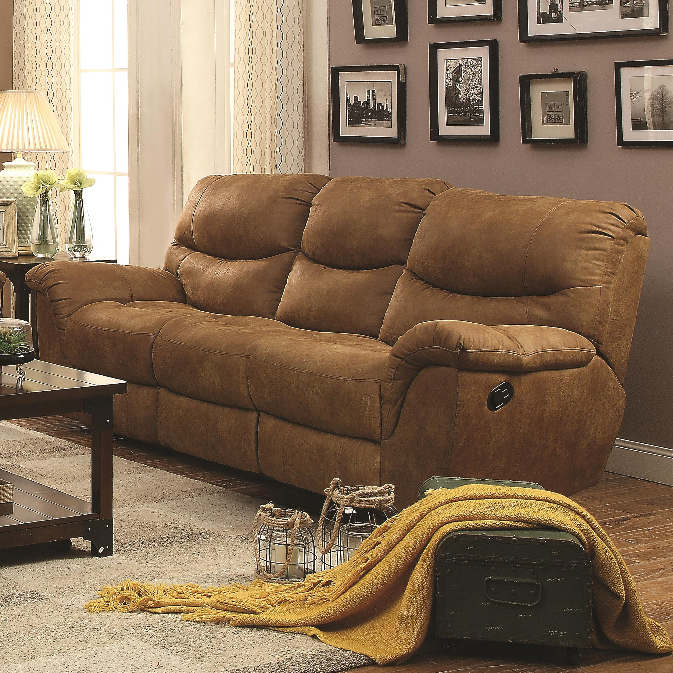 Coaster Hancox Motion Sofa - Item Number: 601761