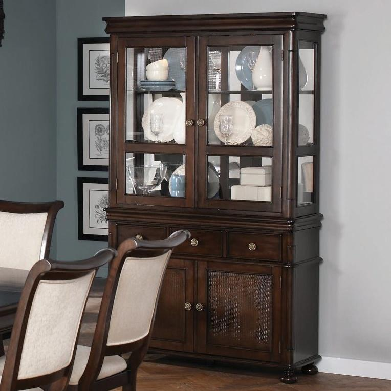 Coaster Harris Buffet and Hutch - Item Number: 104114