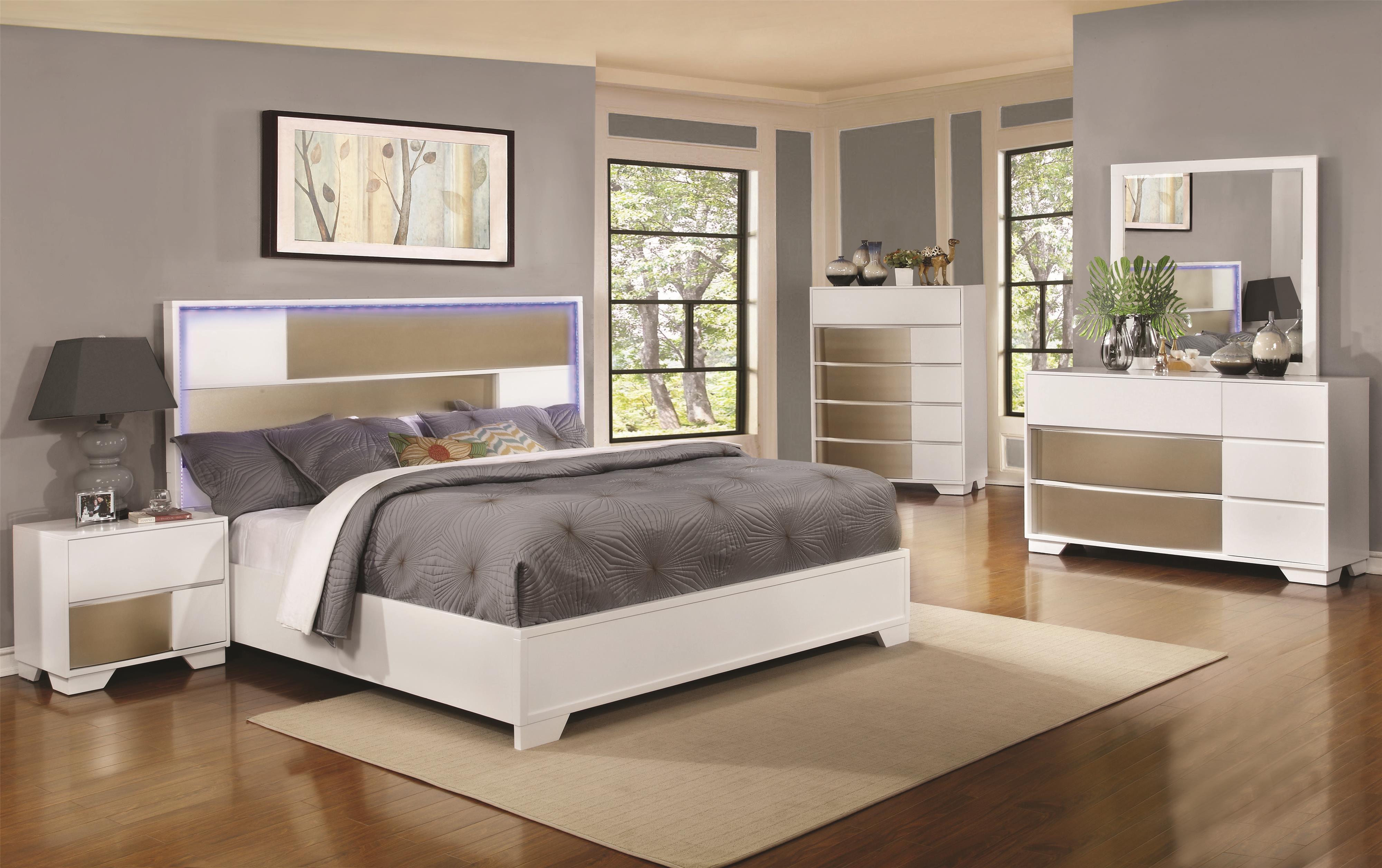 Coaster Havering King Bedroom Group - Item Number: 2047 K Bedroom Group