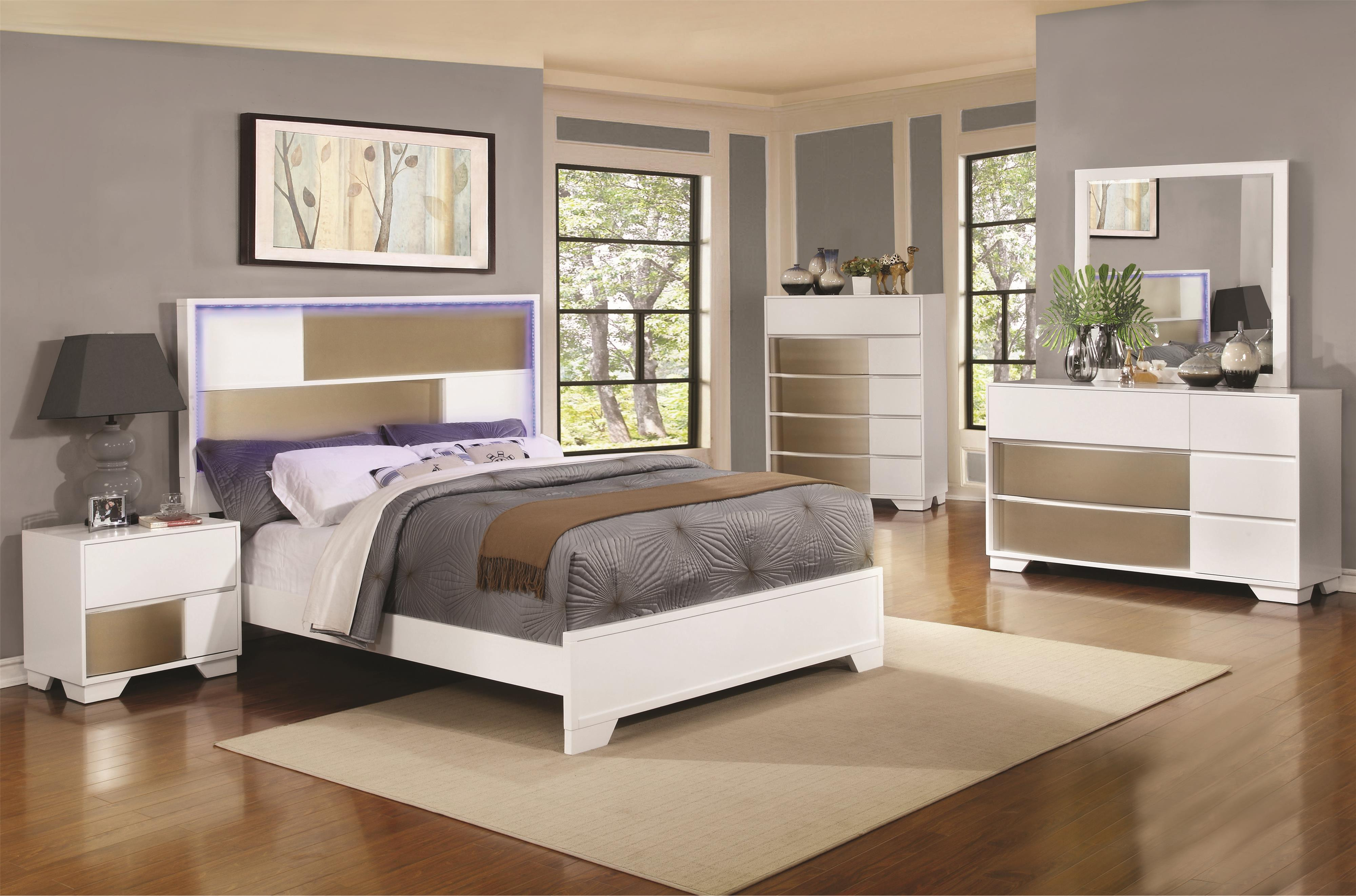 Coaster Havering Queen Bedroom Group - Item Number: 2047 Q Bedroom Group