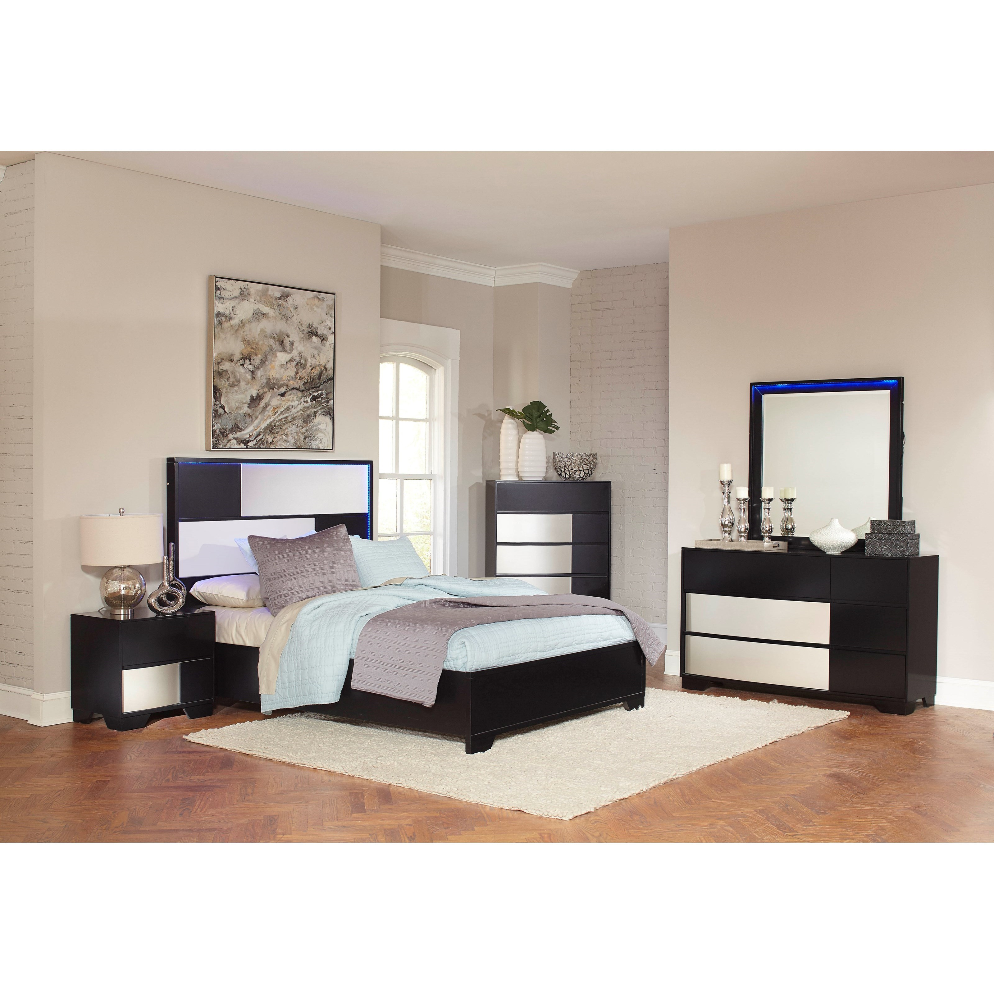 Coaster Havering Queen Bedroom Group - Item Number: 20478 Q Bedroom Group 1