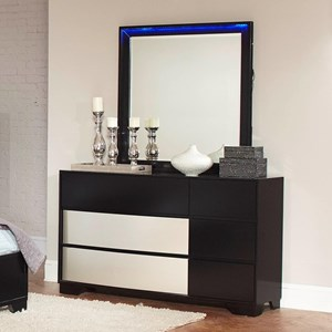 Coaster Havering Dresser and Mirror