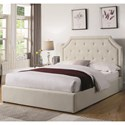Coaster Hermosa Full Upholstered Bed - Item Number: 301469F
