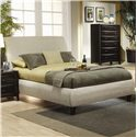 Coaster Phoenix Eastern King Upholstered Bed - Item Number: 300369KE
