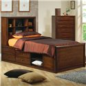 Coaster Hillary and Scottsdale Full Bookcase Bed - Item Number: 400280F