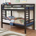 Coaster Hilshire Twin/Twin Bunk Bed - Item Number: 461150