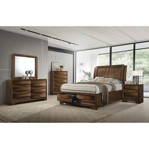 Coaster Hunter Queen Bedroom Group