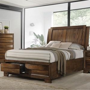 Coaster Hunter King Platform Bed