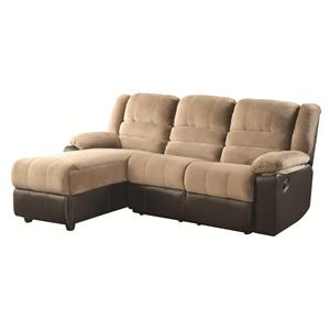Coaster Huxley Reclining Sectional Sofa