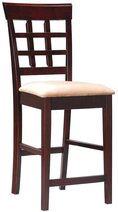 "Coaster Mix & Match 24"" Wheat Back Bar Stool - Item Number: 100209"