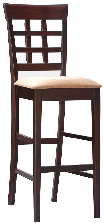 "Coaster Mix & Match 30"" Wheat Back Bar Stool - Item Number: 100210"