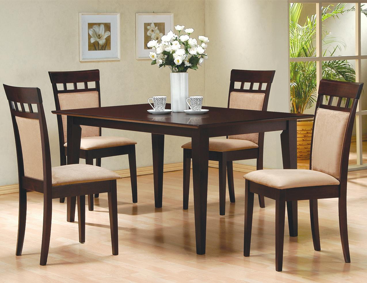 cae9d8e924d1f5 Coaster Mix & Match 5 Piece Dining Set | Dunk & Bright Furniture ...