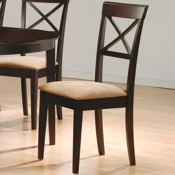 Coaster Mix & Match Cross Back Chair - Item Number: 100774