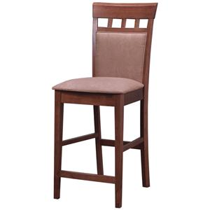 "Coaster Mix & Match 24"" UPL Back Bar Stool"