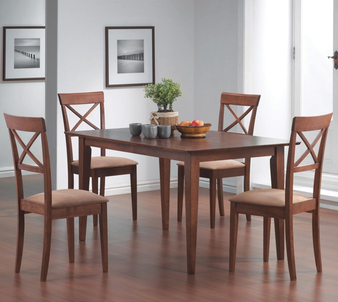 Coaster Mix & Match 5 Piece Dining Set - Item Number: 101771+4X4