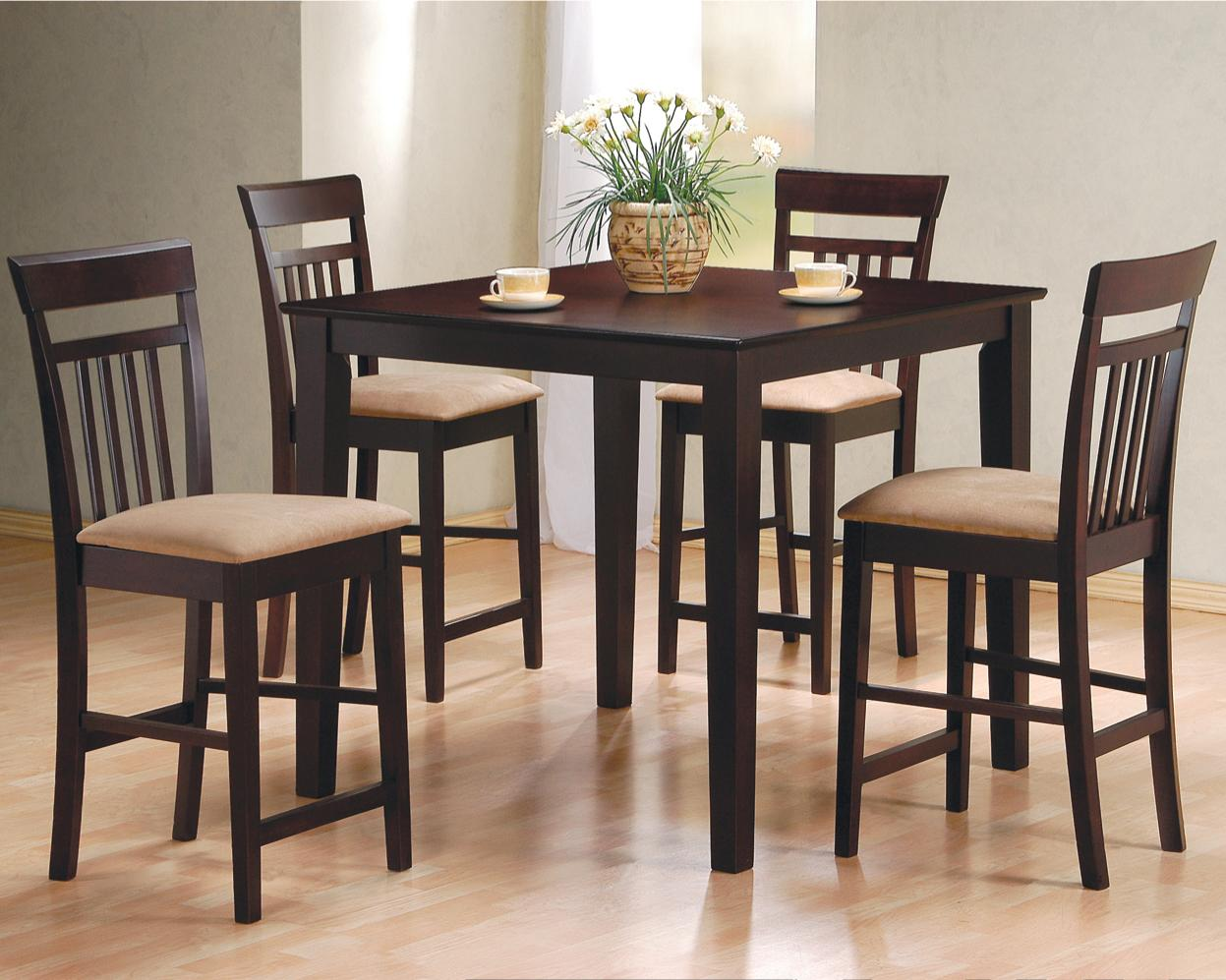 Coaster mix match 5 piece counter height dining set item number 150041