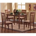 Coaster Mix & Match 5 Piece Dining Set - Item Number: 150430