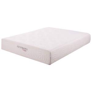 "Coaster Ian Mattress 12"" Queen Memory Foam Mattress"