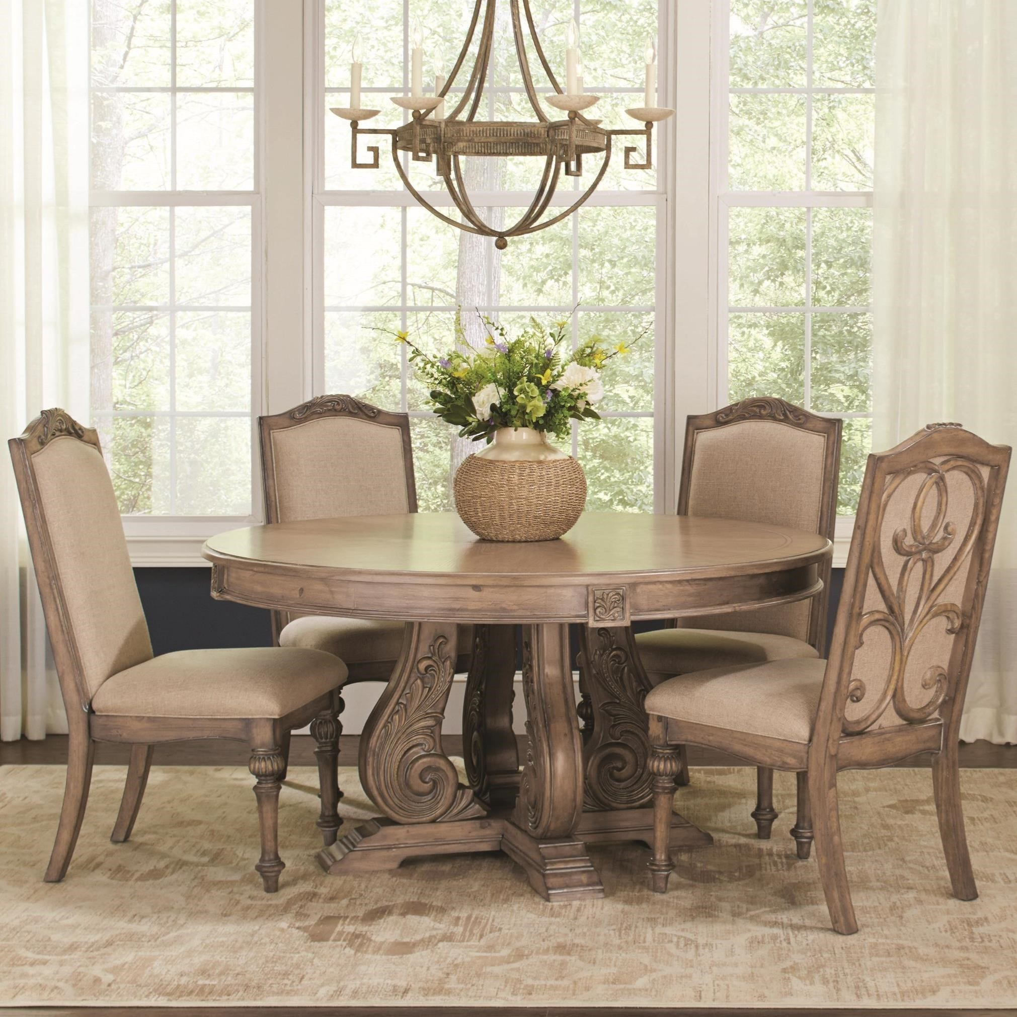 Coaster Ilana Round Dining Table - Item Number: 122210