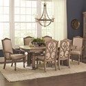 Coaster Ilana 7 Piece Table and Chair Set - Item Number: 122211+2x13+4x12