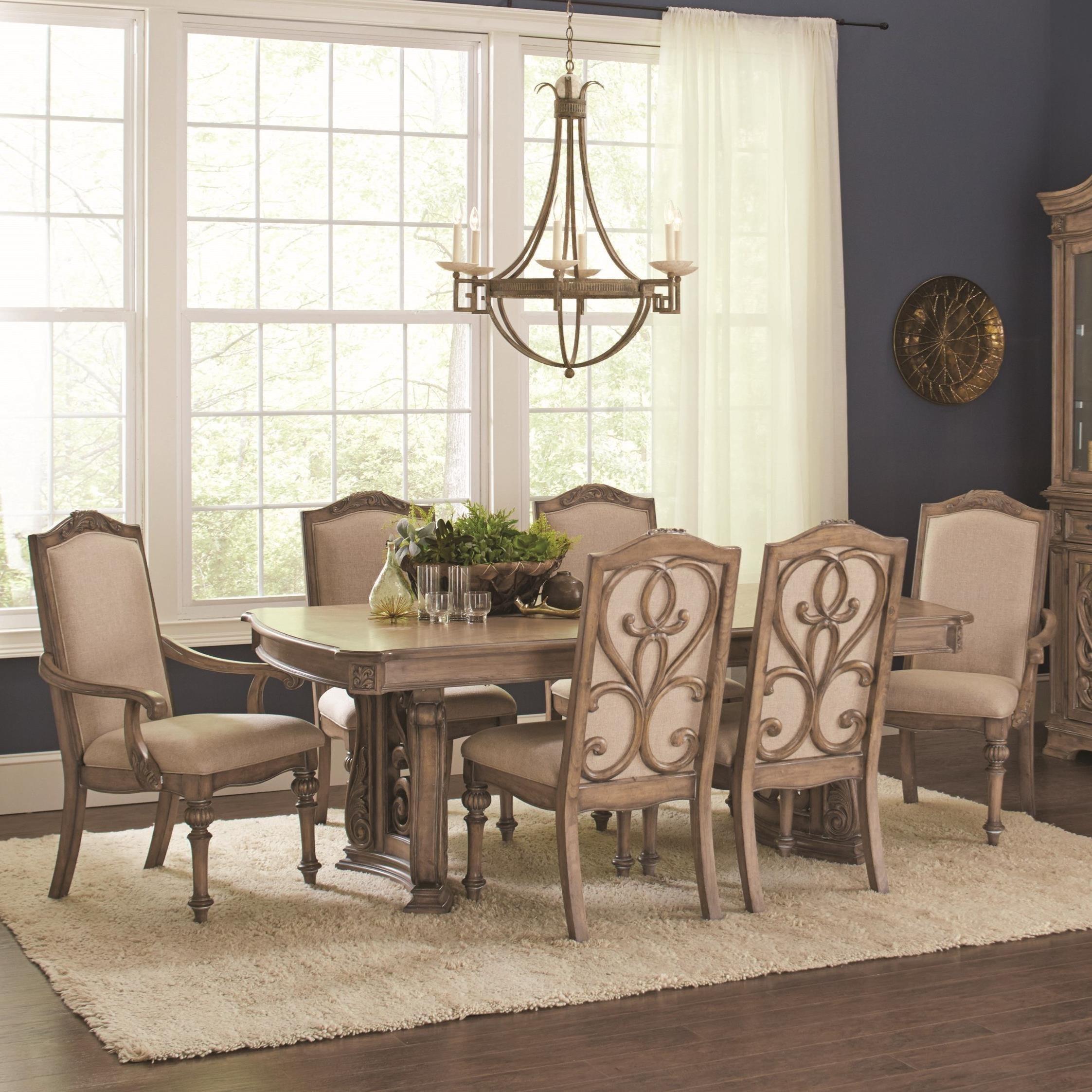 Coaster Ilana Rectangular Dining Table - Item Number: 122211