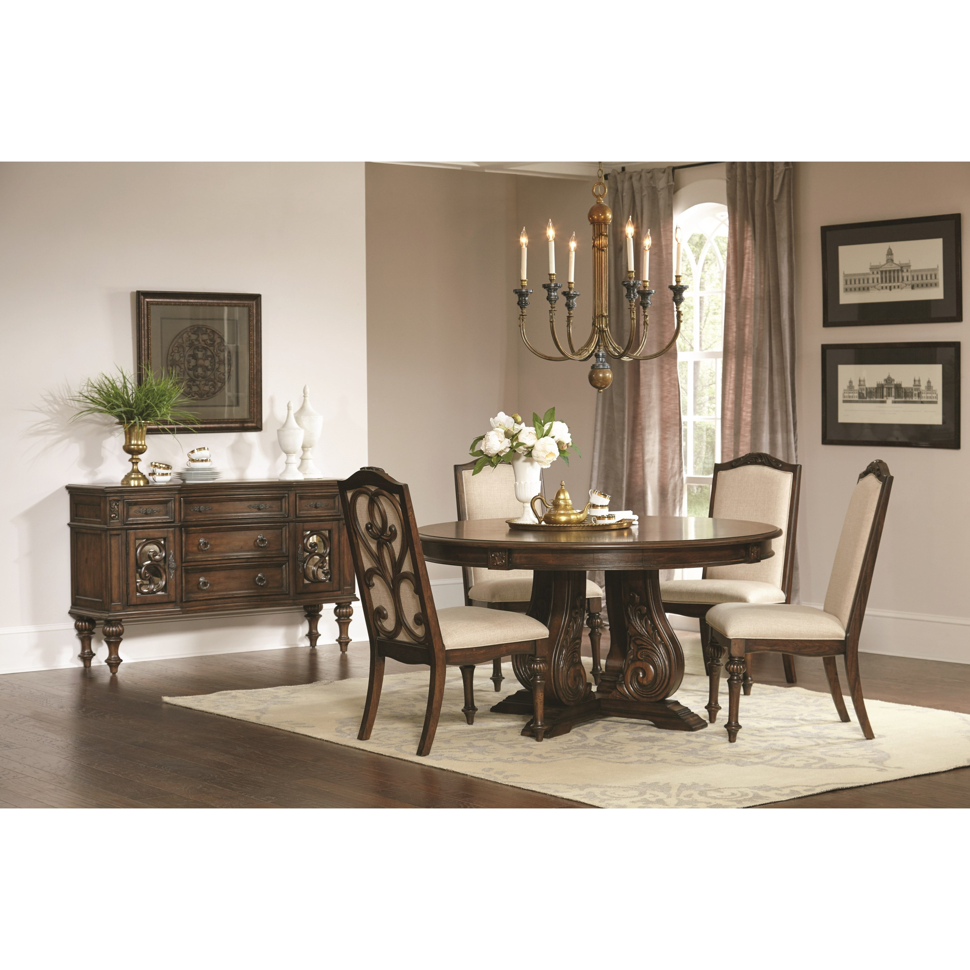 Coaster Ilana Casual Dining Room Group