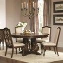 Coaster Ilana  5 Piece Table and Chair Set - Item Number: 122250+4x122252