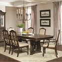Coaster Ilana  7 Piece Table and Chair Set - Item Number: 122251+2x122253+4x122252