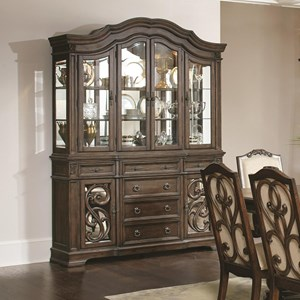 Coaster Ilana Traditional China Cabinet With Glass Doors | Miskelly  Furniture | China Cabinets