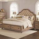 Coaster Ilana King Storage Bed - Item Number: 205070KE
